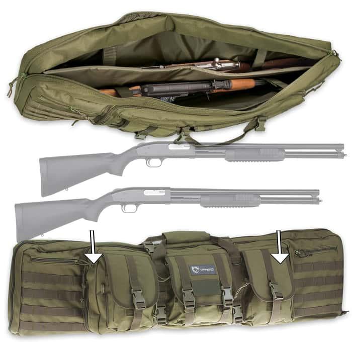 Drago Double Gun Case - 42-Inch
