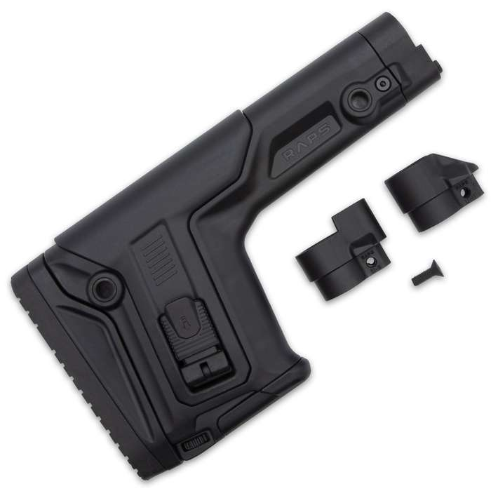 The innovative FAB Defense Rapid Adjustable Precision Stock (RAPS) was designed with the professional precision shooter in mind
