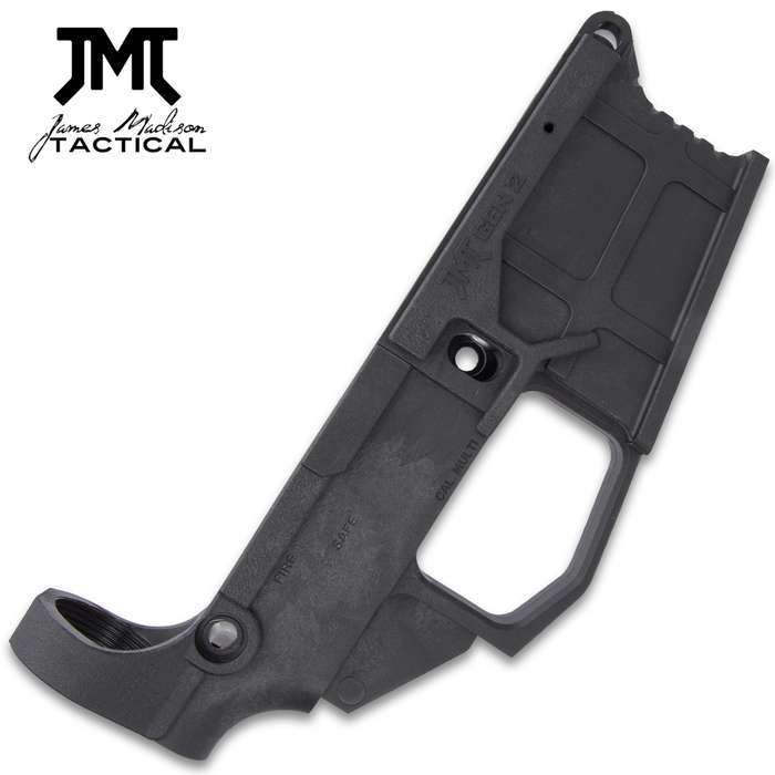 Constantly delivering the ultimate, James Madison Tactical introduces the Carbon 50 AR-15 80% Lower Receiver with Jig Kit
