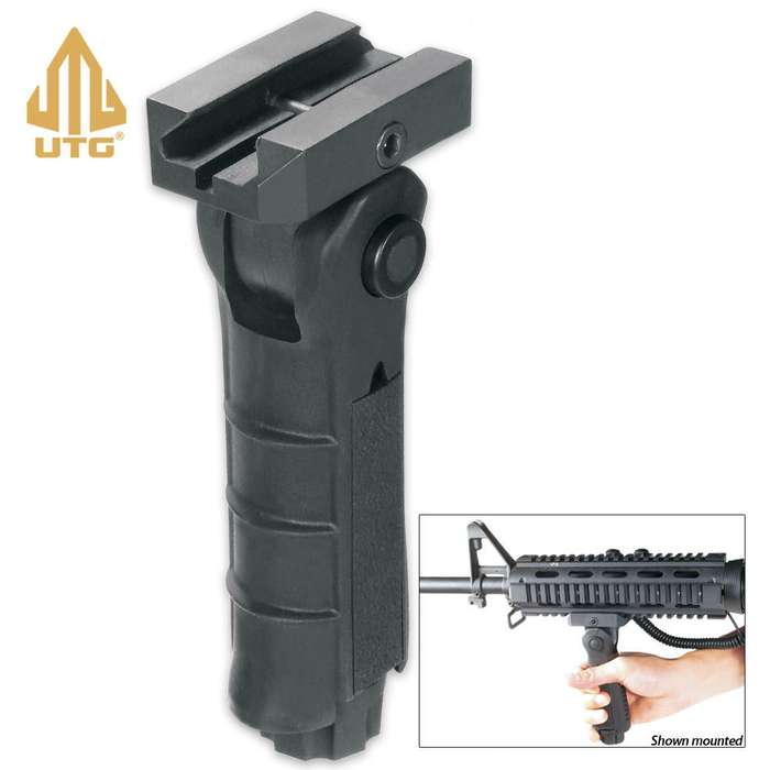 UTG Tactical Foldable Foregrip Black
