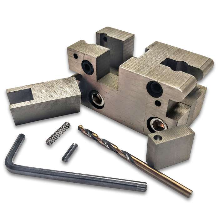 If you have a drop-in auto sear, this eight-piece kit will allow you to repair any of your broken pieces on your auto sear