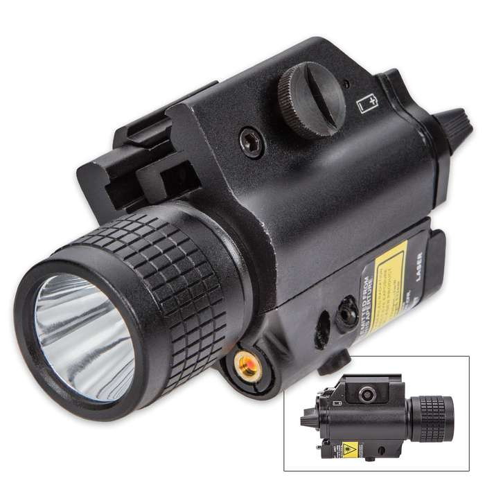 Green Laser Pistol Sight 200 Lumen Flashlight
