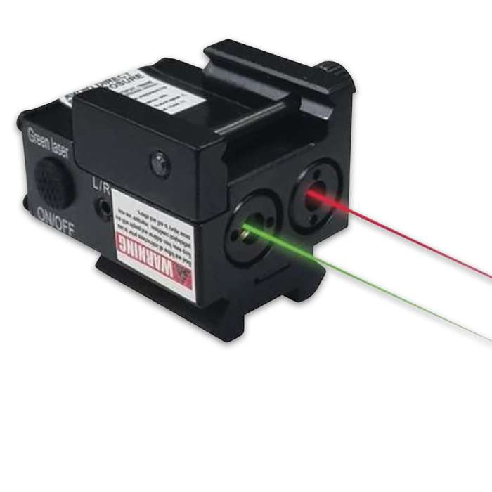 With its sleek and compact design, this Red And Green Combo Laser is a must-have for your sub-compact