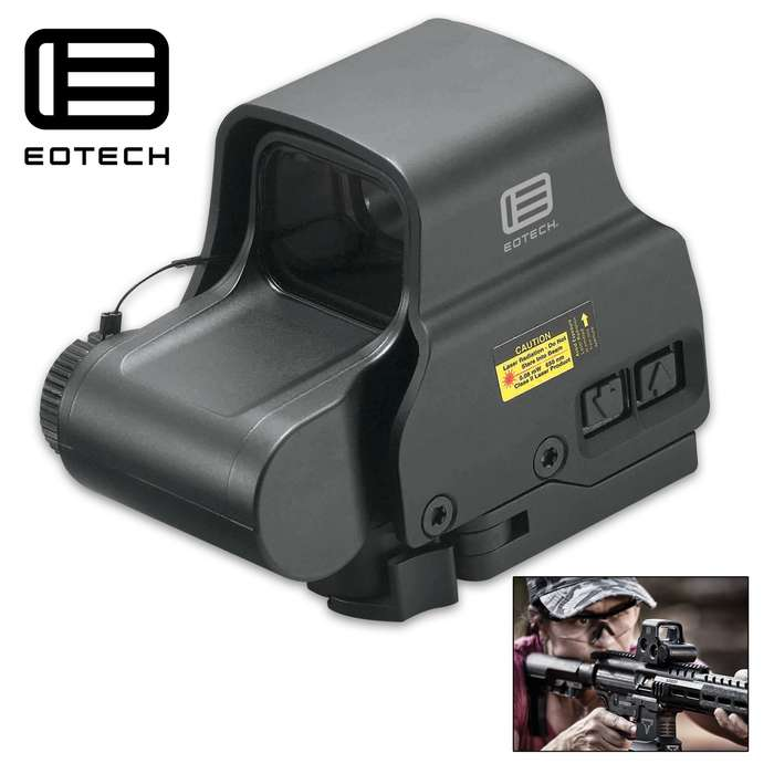 An operator-grade Holographic Weapon Sight, with night vision, built for close-quarter engagements with fast-moving targets