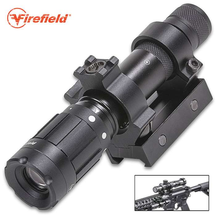 The Firefield Hog Laser Designator is perfect for precision aiming and illumination to light up and zero-in on your target
