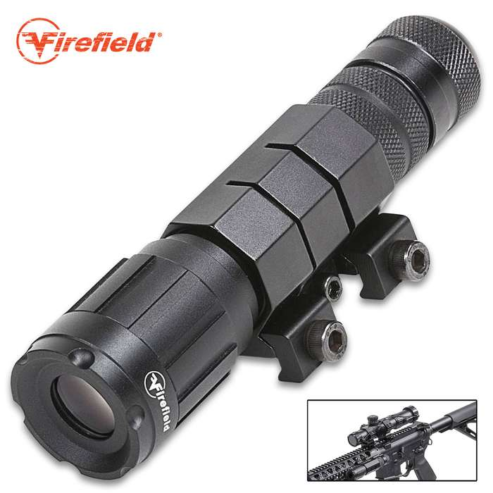 The Firefield Hog Green Laser Illuminator turns a traditional riflescope into the ultimate night vision optic