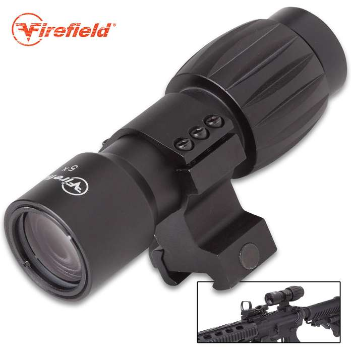 This accessory is designed for use in conjunction with holographic, collimated reflex, and other compatible weapons sights