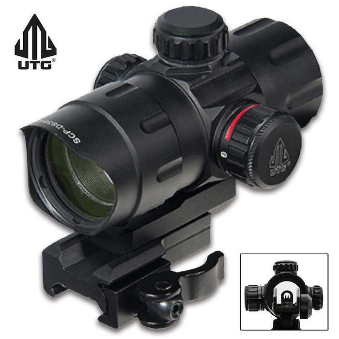 This T-Dot Sight aids in intuitively acquiring targets, enhancing shooting accuracy, speed and overall performance