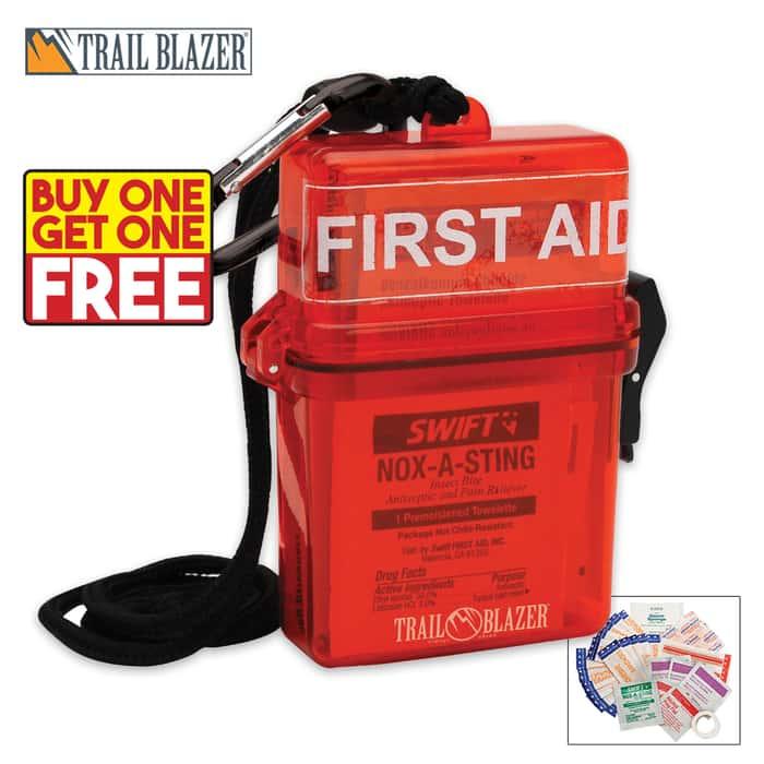 Lifeline Weather Resistant First Aid Kit - BOGO