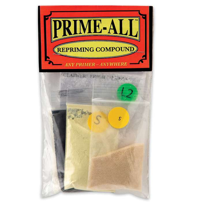 Prime-All Compound For Reloading