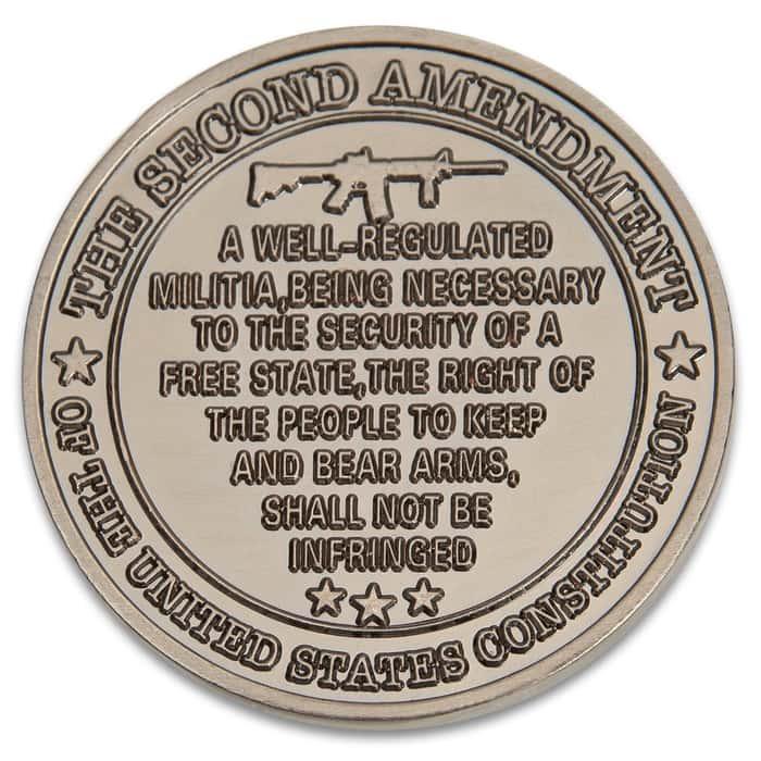 2nd amendment coin