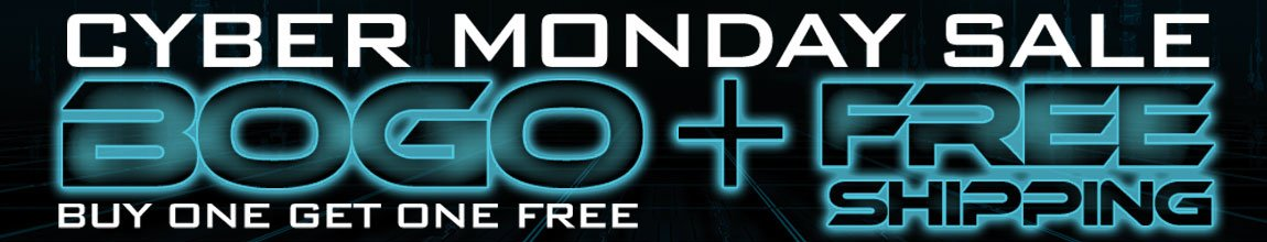 Cyber Monday BOGO Sale