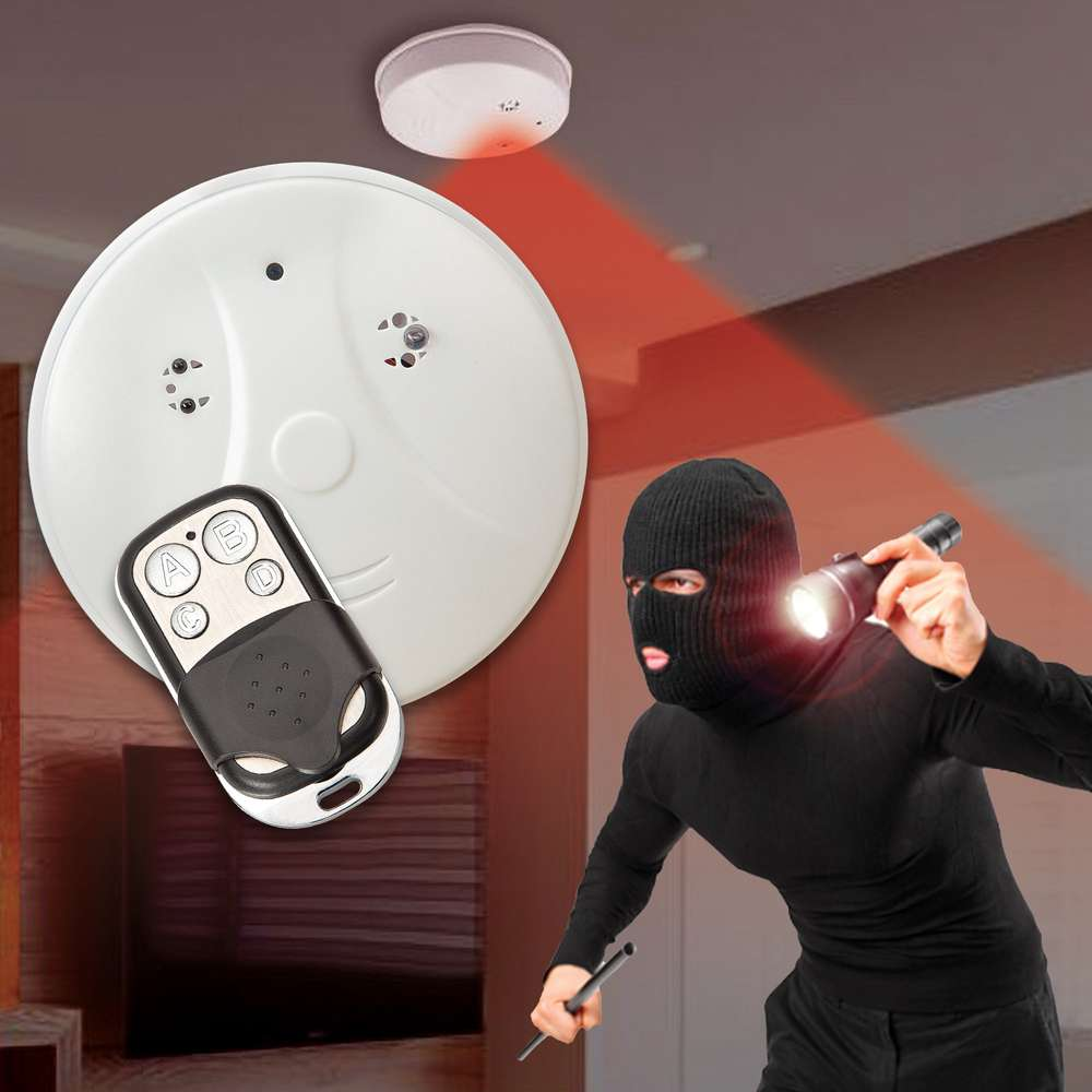 Smoke Detector Spy Camera With Night Vision