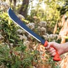 Condor Eco-Survival Golok Machete With High Impact Orange Handle