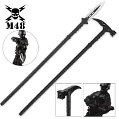 M48 Tactical Survival Hammer And Hunting Spear with Sheath Combo