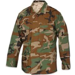 ROTHCO Basic BDU Uniform Top Woodland