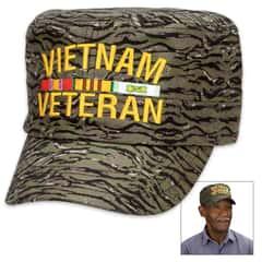 Jungle Camo Flat Top Cap - Hat