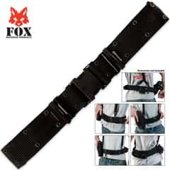 Fox Pistol Belt
