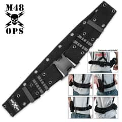M48 OPS Pistol Belt Black