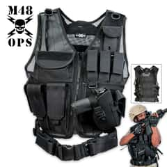 M48 Ops Tactical Cross Draw Vest