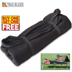 Trailblazer Fleece Sleeping Bag / Liner - Black - BOGO