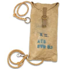 Danish Pioneer Rope With Stuff Sack - 16M, Like New, High-Strength, Variety Of Uses, Metal Clip, Approximately 20'