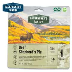 Shepherd's Pie With Beef Meal - Ready In 15 Minutes, Two Servings, 300 Calories, 18g Protein, Gluten-Free, 3-Year Shelf-Life