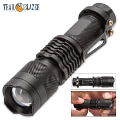 Trailblazer Clip Zoom LED Flashlight / Torch