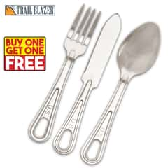 GI-Issue Utensils - Fork, Spoon and Knife - BOGO