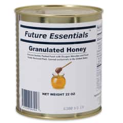 Future Essentials 22 oz. Granulated Honey in Vacuum-Sealed Can