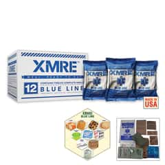 XMRE Blue Line Meals Case -  MRE 12 Pack
