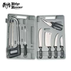 Ridge Runner Deluxe Game Cleaning Knife And Saw Kit