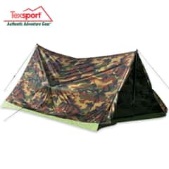 Texsport Two-Man Trail Tent in Woodland Camo