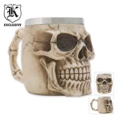 Realistic Fantasy Skull Coffee Mug  And Tankard
