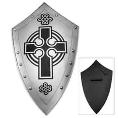 Crusaders Cross Iron Faith Shield