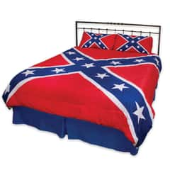 Rebel Flag Three-Piece Comforter Set
