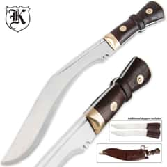 Regimental Kukri Fixed Blade Knife