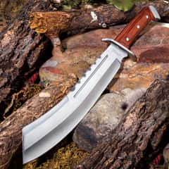 Ridge Runner Brimstone Canyon Machete / Fixed Blade Knife with Nylon Sheath