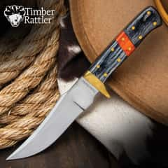 Timber Rattler Saddlebag Skinner Knife