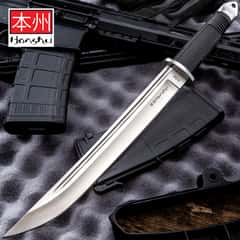 United Cutlery Honshu Tanto Knife And Leather Sheath