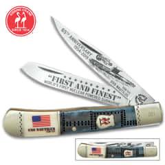 Traditional Pocket Knives Trapper Fiddleback Stockman