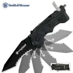 Smith & Wesson Black SW911B First Responder Folding Knife