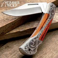 Timber Wolf Gentleman's Lockback Pocket Knife