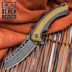 Black Ronin Bushido Pocket Knife