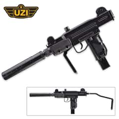 UZI Mini Carbine With Mock Silencer
