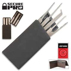 Secure Pro Credit Card-Sized Lock Picking Set