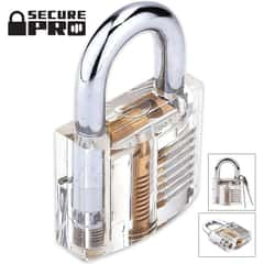 Secure Pro Clear Practice Padlock