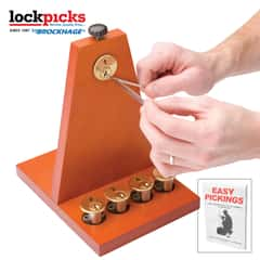 Secure Pro Lockpicking School Kit - Lock Picking Guide, Keyed Practice Locks, Lock Picking Tools, Master Key