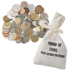 Around The World Pound of Coins Grab Bag
