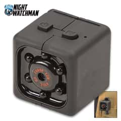 Night Watchman Mini Spy Camera - 1080P, Night Vision, Wireless, USB Charger, Plug And Play Video, Supports 32G SD Card - Not Included